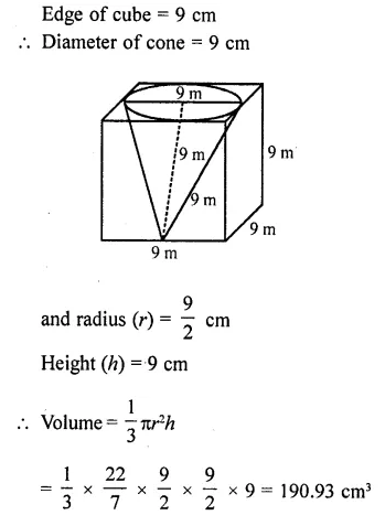 RD Sharma Class 10 Solutions Chapter 14 Surface Areas and Volumes Ex 14.1 33