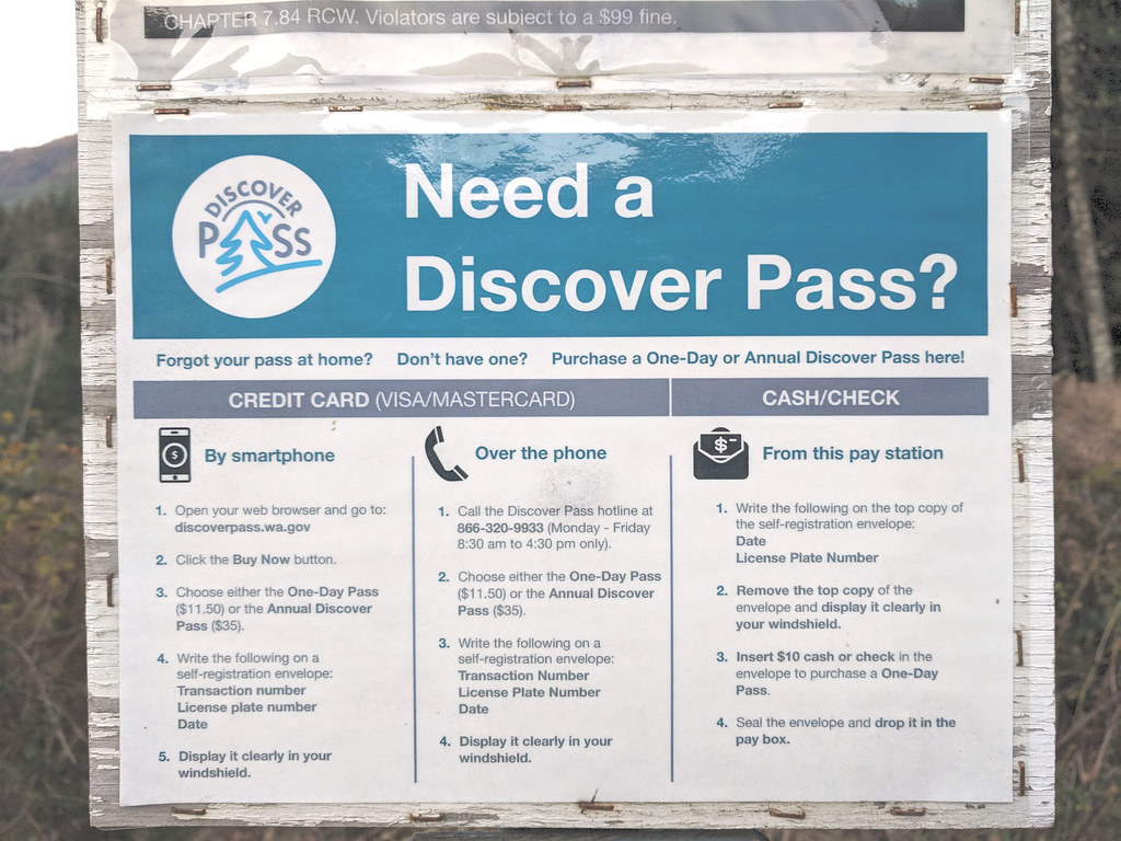 Washington State Parks - Discover Pass