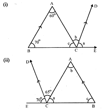 Selina Concise Mathematics Class 6 ICSE Solutions - Properties of Angles and Lines (Including Parallel Lines)-r2