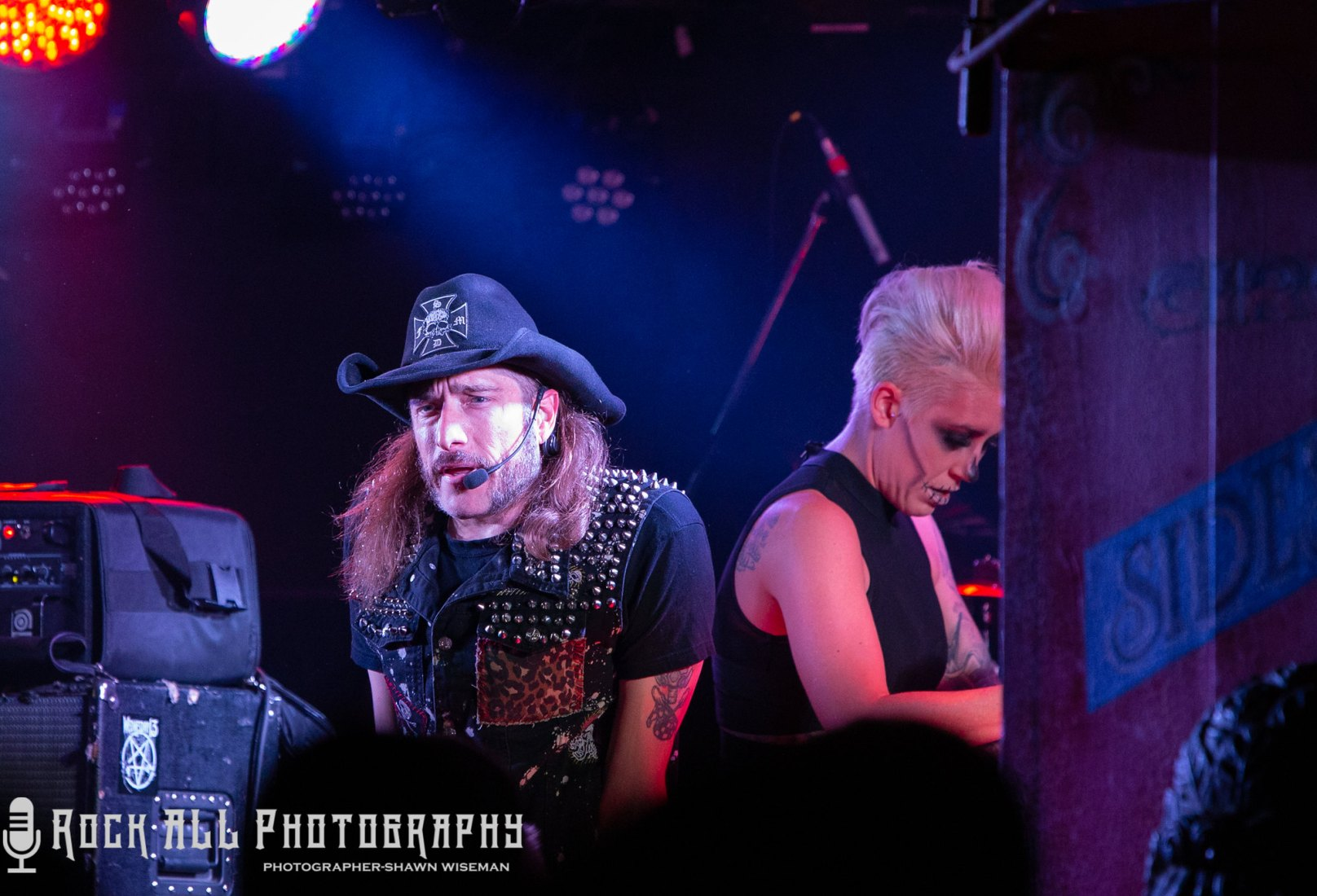 Hellzapoppin Circus Sideshow - Blue Not Harrison - 10/31/18