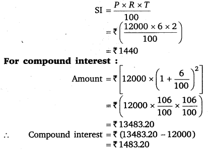 NCERT Solutions for Class 8 Maths Chapter 8 Comparing Quantities 16