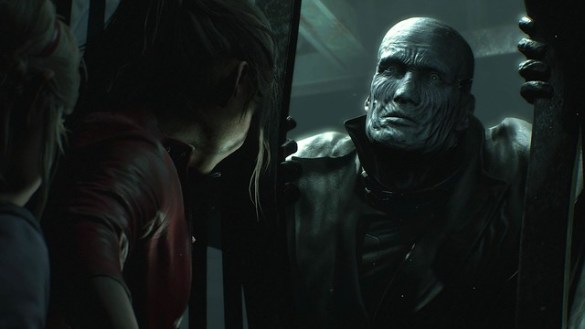Resident Evil 2 - Mr X Chasing Claire