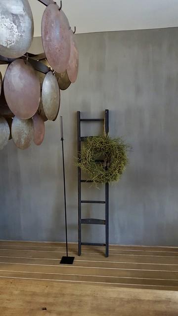 Ladder asparagus krans Hoffz schijfjeslamp