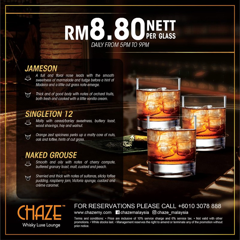 Chaze rm8.80 Whisky