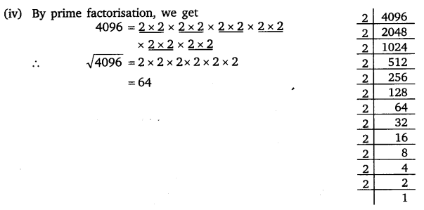 NCERT Solutions for Class 8 Maths Chapter 6 Squares and Square Roots 5