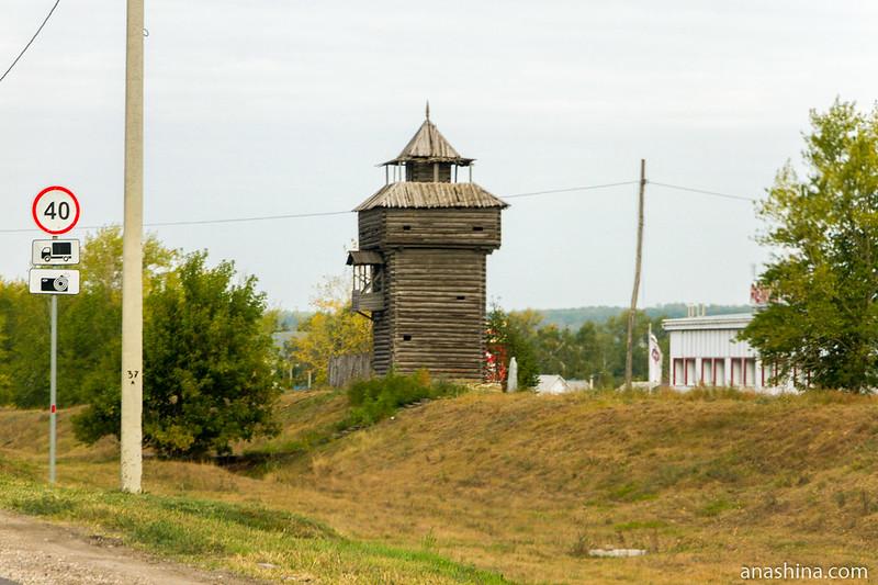 Остатки Пензенской засеки в поселке Мокшан, Пензенская область