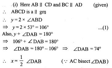 ML Aggarwal Class 9 Solutions for ICSE Maths Chapter 13 Rectilinear Figures  ct 5a