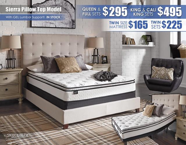 Sierra Pillow Top Mattress_M87431