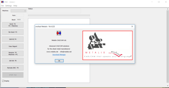 Working with DNC of cnckad v16 FULL license