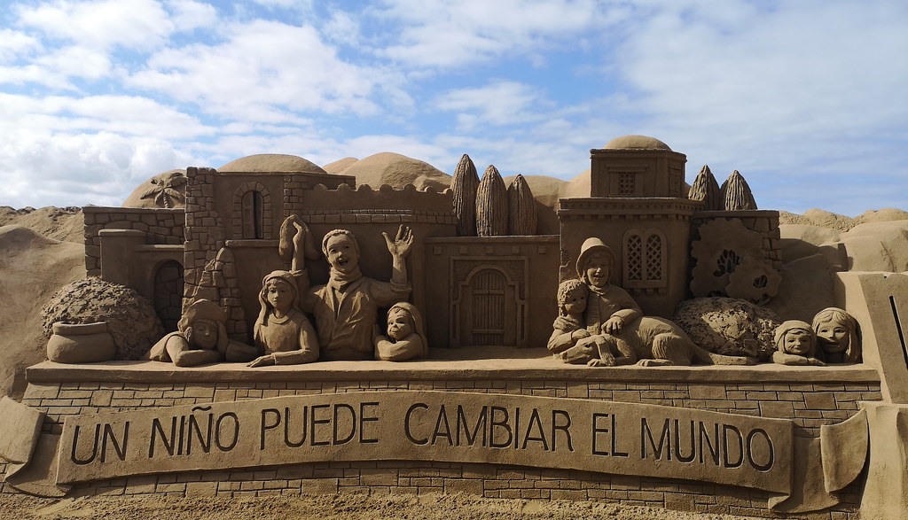 Belén de Arena 2018 en La Playa de las Canteras Las Palmas de Gran Canaria 10