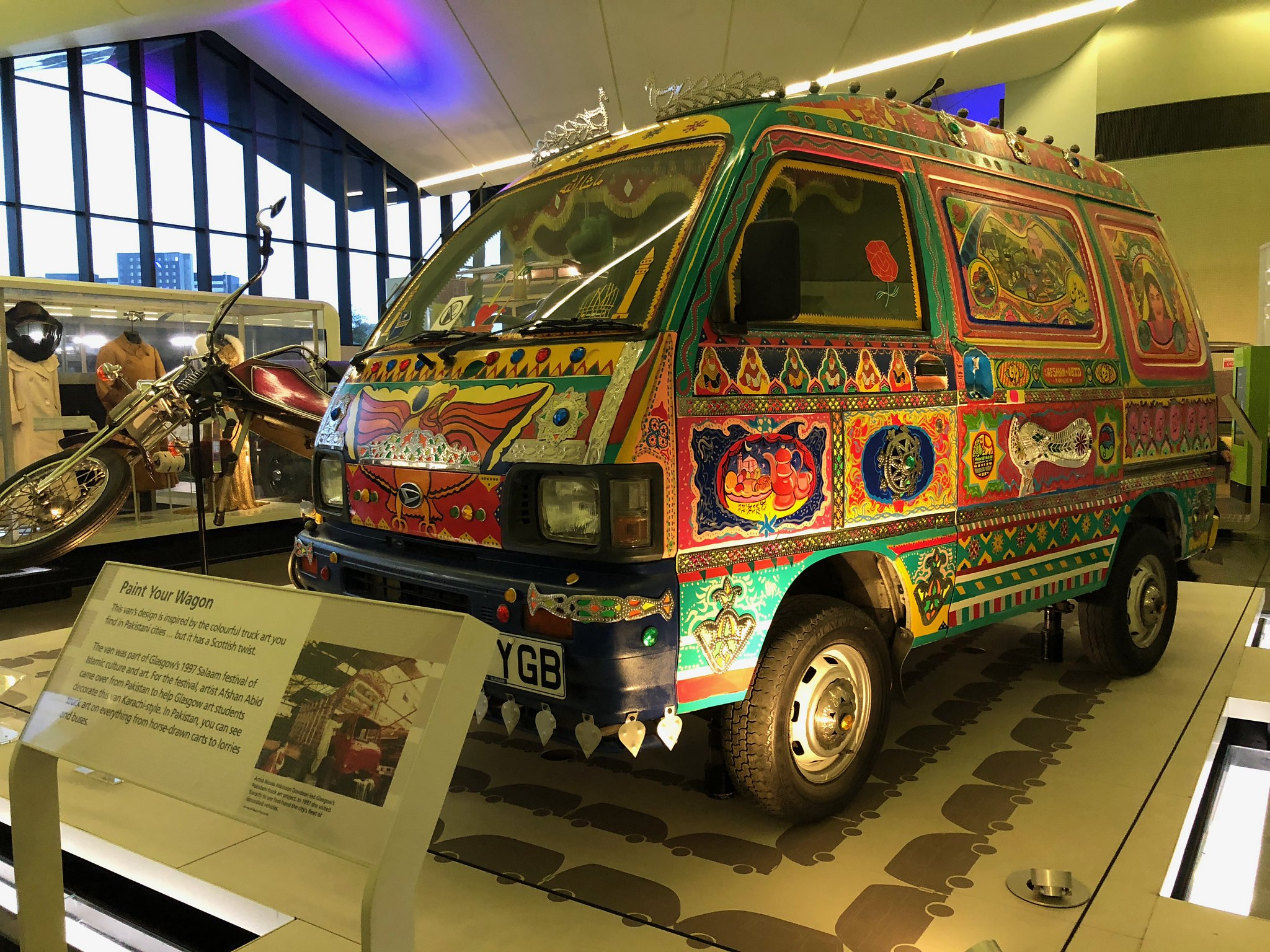 Inside Riverside Museum   Glasgow Itinerary