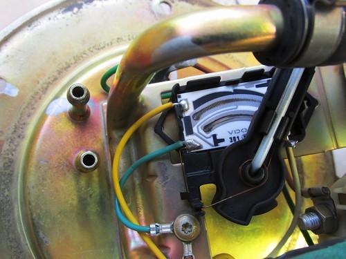 Fuel Level Sending Unit Potentiometer