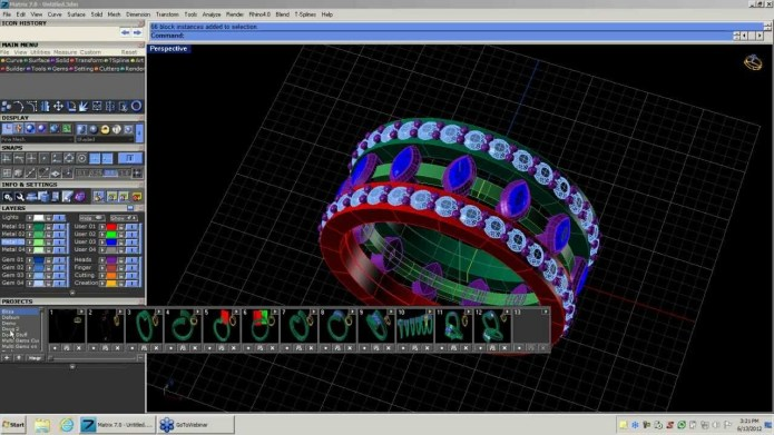 Design with Gemvision Matrix 7 full license