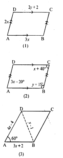 ML Aggarwal Class 9 Solutions for ICSE Maths Chapter 13 Rectilinear Figures  ex 5