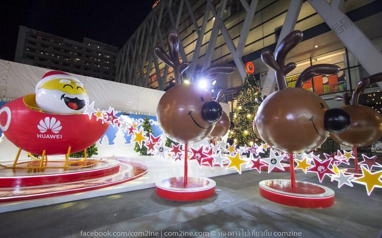 Christmas tree Light Up Celebration. At centralwOrld