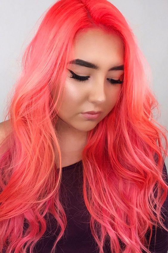 The Best Peach Hair Color For Women Fashion 2d