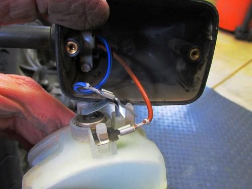 Removing Rear Turn Signal Reflector