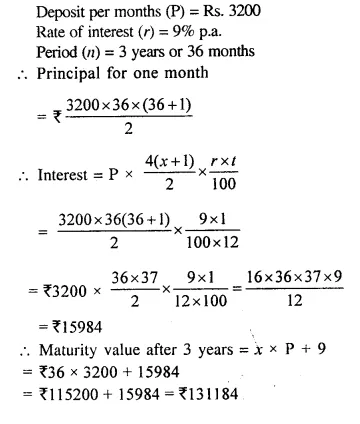 Selina Concise Mathematics Class 10 ICSE Solutions Chapterwise Revision Exercise 6