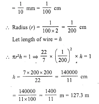 RD Sharma Class 10 Solutions Chapter 14 Surface Areas and Volumes  RV 9