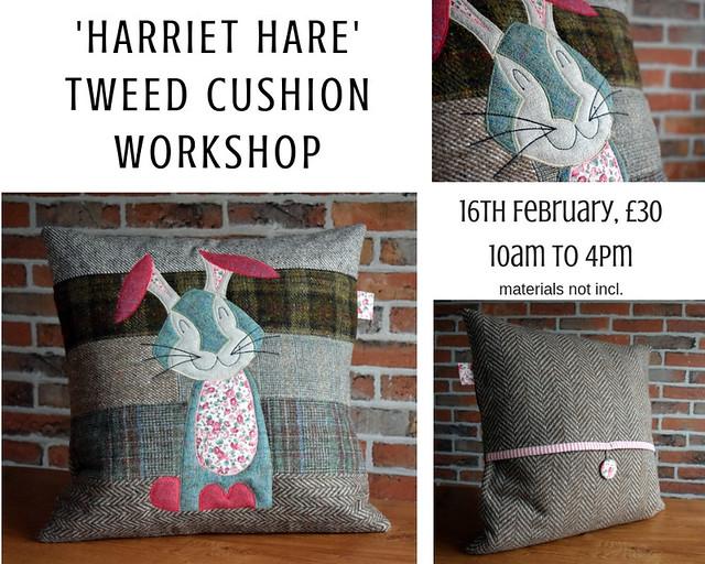 Harriet cushion workshop