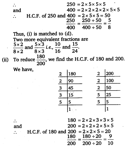 NCERT Solutions for Class 6 Maths Chapter 7 Fractions 39