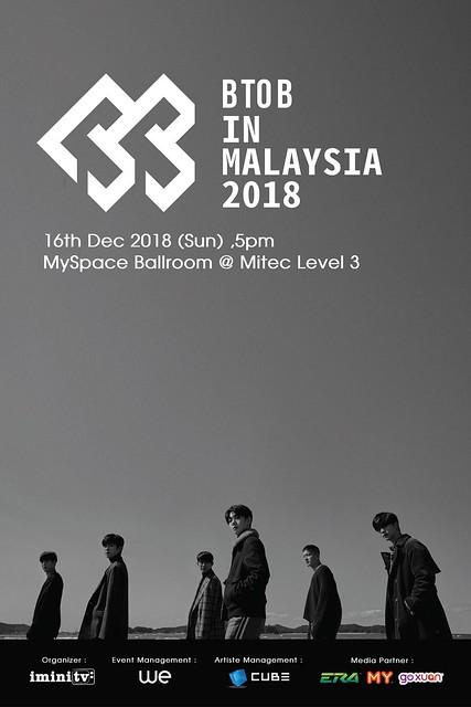 BTOB in Malaysia 2018