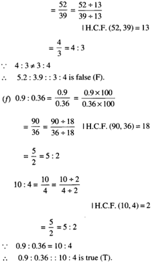 NCERT Solutions for Class 6 Maths Chapter 12 Ratio and Proportion 46