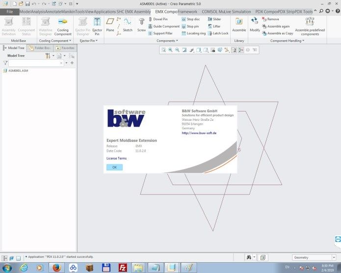 Working with PTC Creo EMX 11.0.2 full license