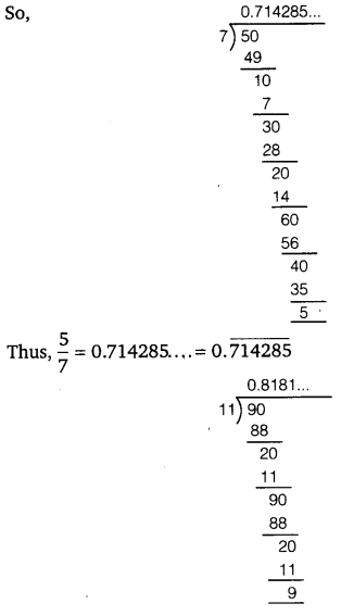 NCERT Solutions for Class 9 Maths Chapter 1 Number Systems 15