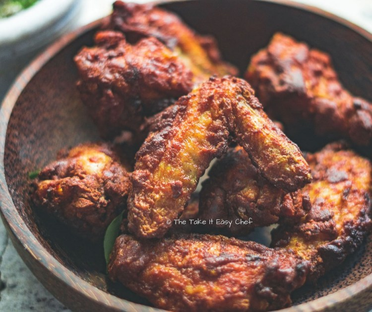 Picture of Easy Indian Chicken Wings