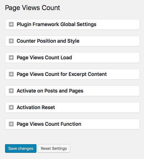 페이지 뷰 카운트 Page View Count 플러그인 설치 3