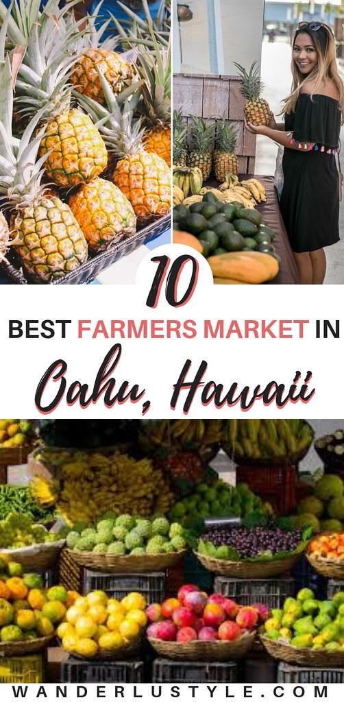 Farmers Market Oahu Hawaii - Best Farmers Market in Hawaii | Wanderlustyle.com