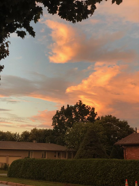 Carleton Place sunset drama