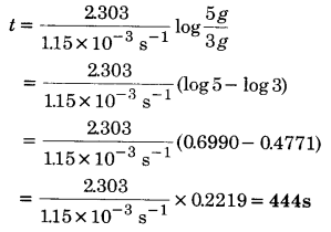 UP Board Solutions for Class 12 Chapter 4 Chemical Kinetics Q.5