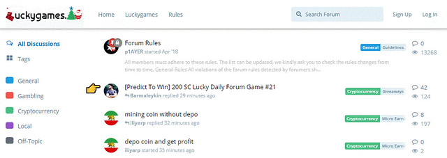 Foro de Luckygames