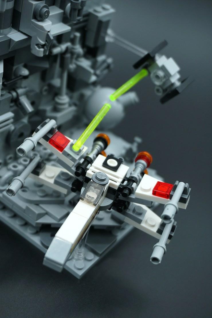 Death Star Trench Run