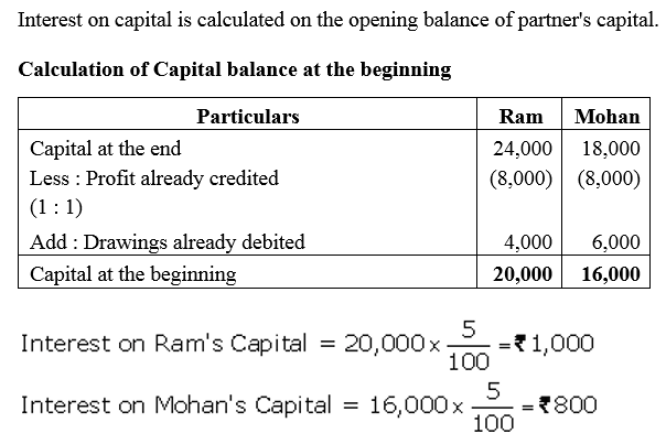 TS Grewal Accountancy Class 12 Solutions Chapter 1 Accounting for Partnership Firms - Fundamentals Q36