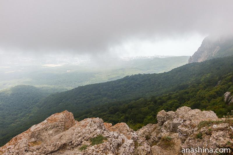 Смотровая площадка на скале Шишко, Ай-Петри, Ялта