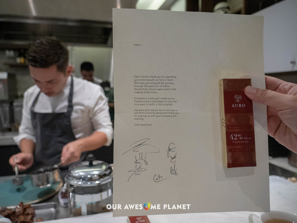 HELM: Chef Josh Boutwood at the Helm of Manila's Best Degustation