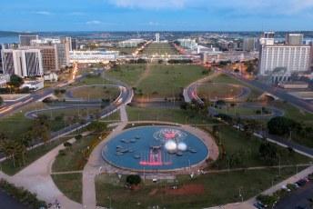 Eixo Monumental, de romp van het vliegtuig en het centrum van de macht in Brazilië.