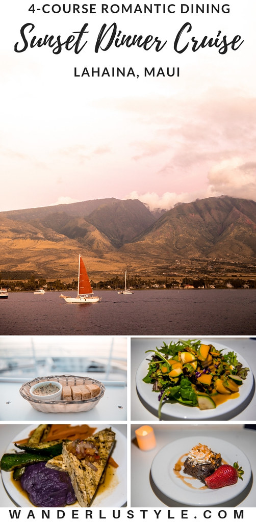 Romantic Dinner Cruise in Lahaina, Maui by TravelShack | Wanderlustyle.com