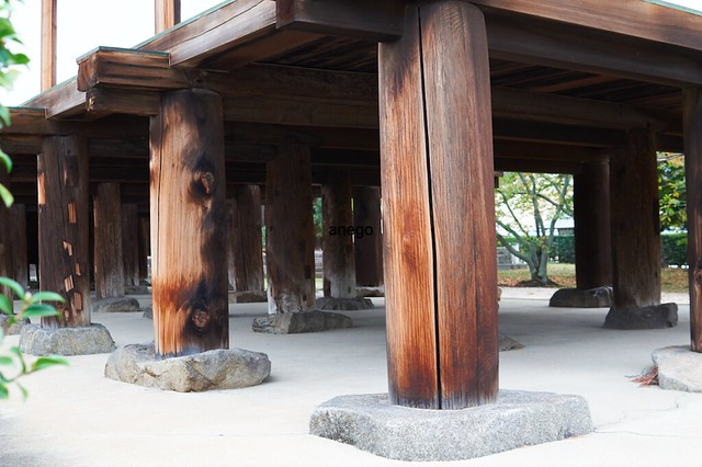 法隆寺 高床式倉庫