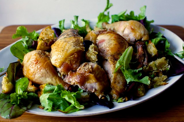 zuni cafe's roast chicken + bread salad