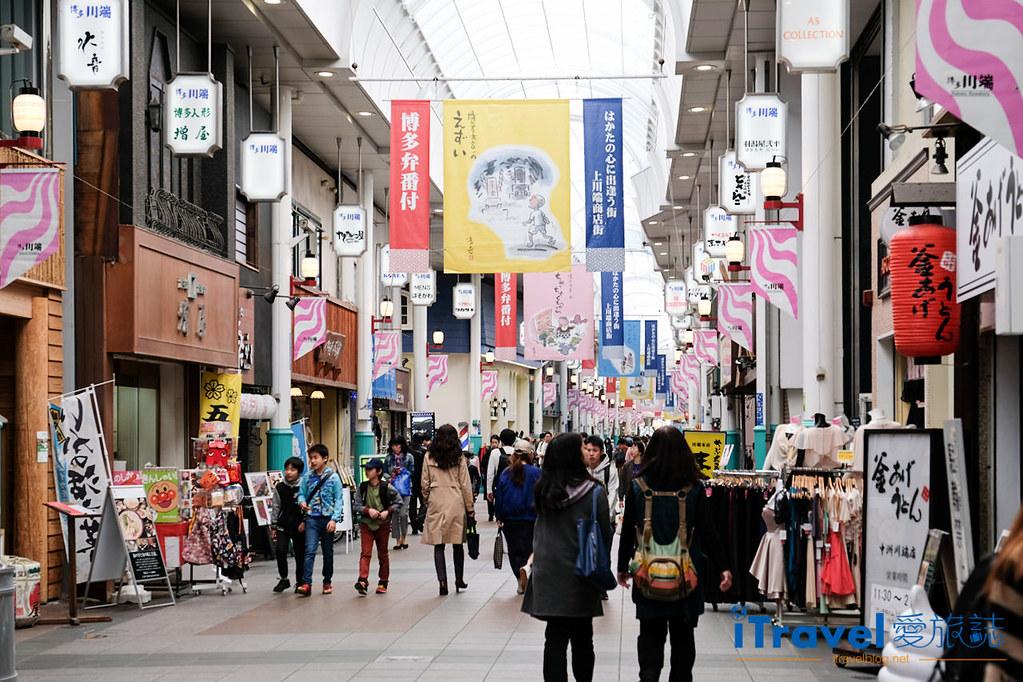 福岡川端通商店街:博德歷史悠久的商業步行街   愛旅博客