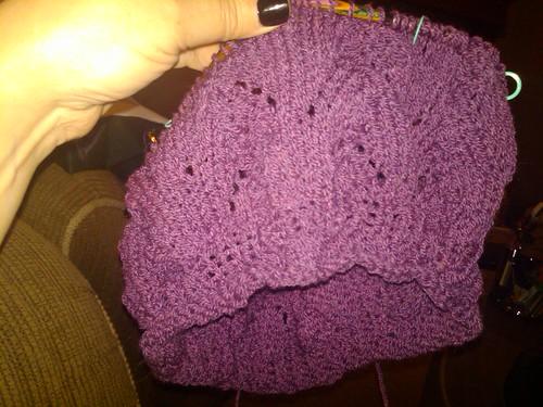 Meret beret - in progress