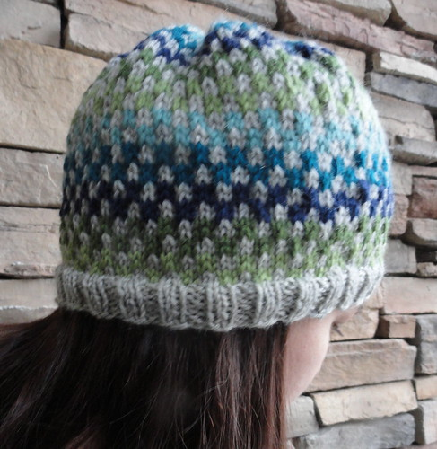 Checkerboard Hat - Close