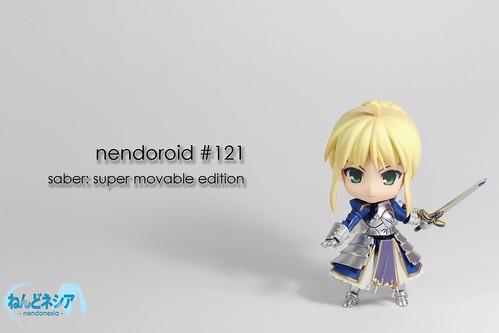Nendoroid Saber: Super Movable Edition