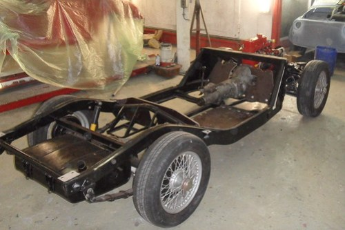 MG-A chassis