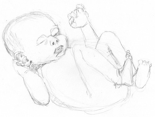 Second baby sketch on 2011-01-12