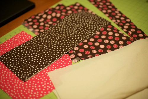 Cut out fabric